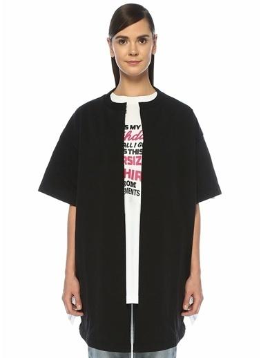 Vetements Ceket Siyah
